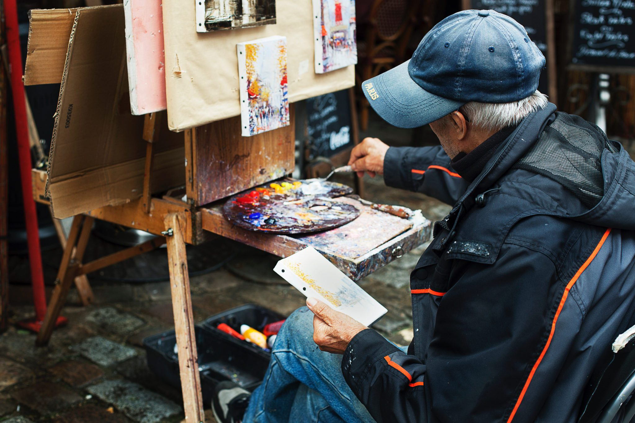 It's Never Too Late To Create Inspiration On Becoming An Artist